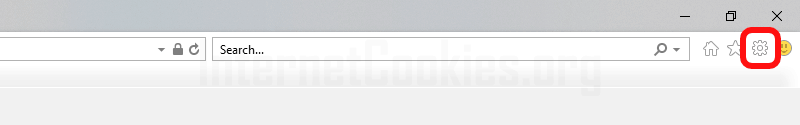 Internet Explorer main window
