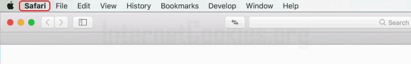 Safari main window